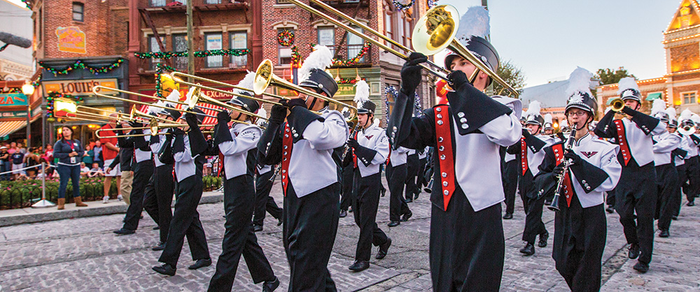 STARS Marching Performance Program | Universal Orlando® Youth Programs